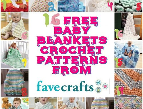 16 Free Baby Blankets Crochet Patterns from Favecrafts – Pattern Round up