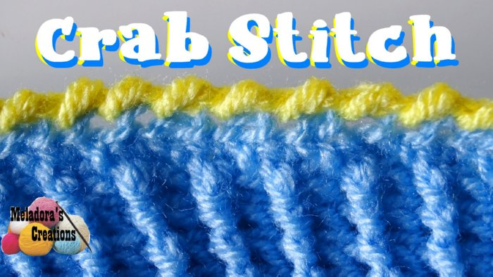 Crab Stitch or Reverse Single Crochet – Free Crochet tutorial