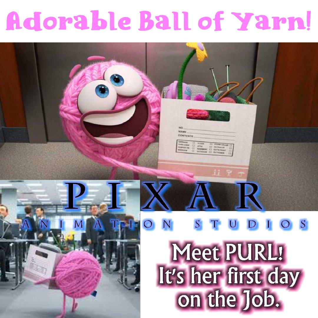 Meet PURL - Pixar Animation