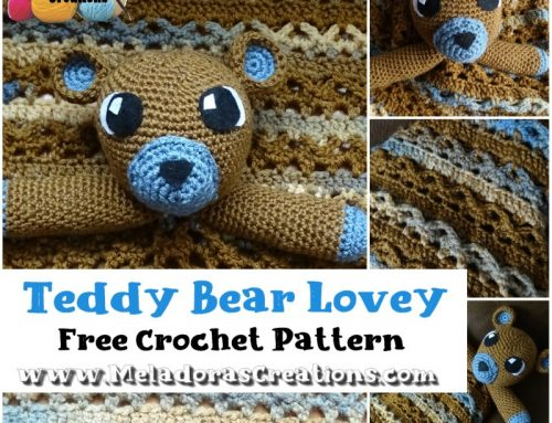 Teddy Bear Lovey (Part 1) – Free Crochet Pattern