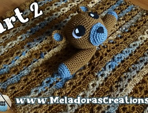 Teddy Bear Lovey (Part 2) – Free Crochet Pattern