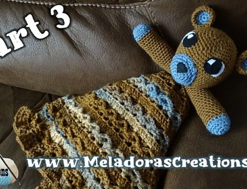 Teddy Bear Lovey (Part 3) – Free Crochet Pattern