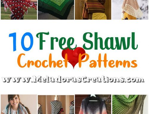 10 Free Shawl Crochet Pattern Round up – Crochet Link Blast