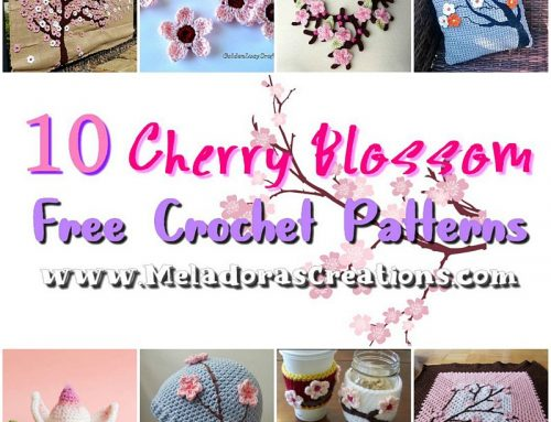10 Cherry Blossom Free Crochet Patterns – Crochet Pattern Round up