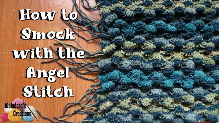 Smocked Crochet Pillow Cover – Free Crochet Pattern and Tutorial