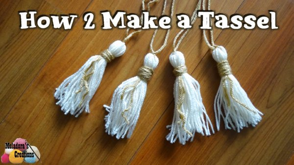 How to make a Tassel & Attach it
