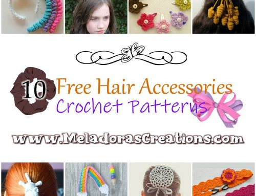 10 Free Hair Accessories Crochet Patterns – Crochet pattern Round up Link Blast
