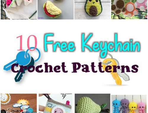 10 Free Key Chain Crochet Patterns – Crochet pattern Round up Link Blast