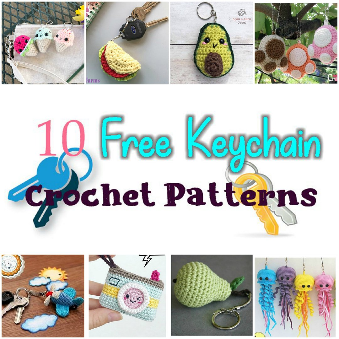 Crochet Jellyfish - 14 Free Crochet Patterns ⋆ DIY Crafts | 1080x1080