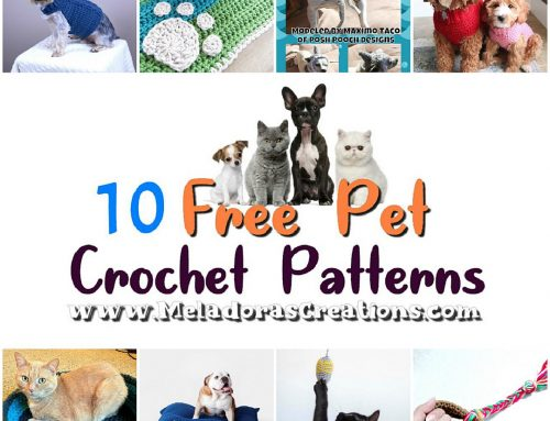 10 Free Crochet Pet Patterns – Crochet round up Link blast