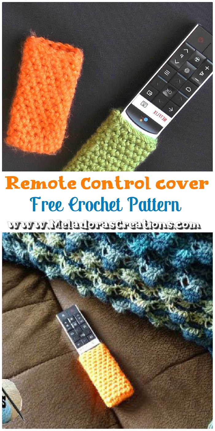 How to Crochet a Remote Control Cover - Crochet Pattern and Tutorial
