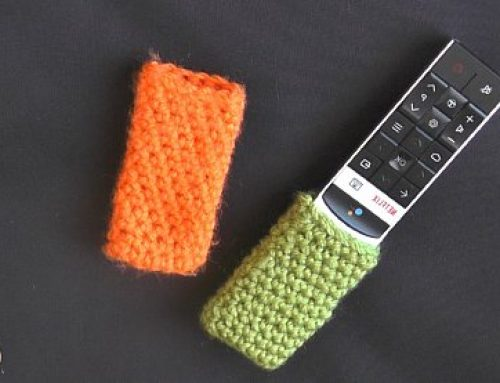 How to Crochet a Remote Control Cover – Crochet Pattern and Tutorial