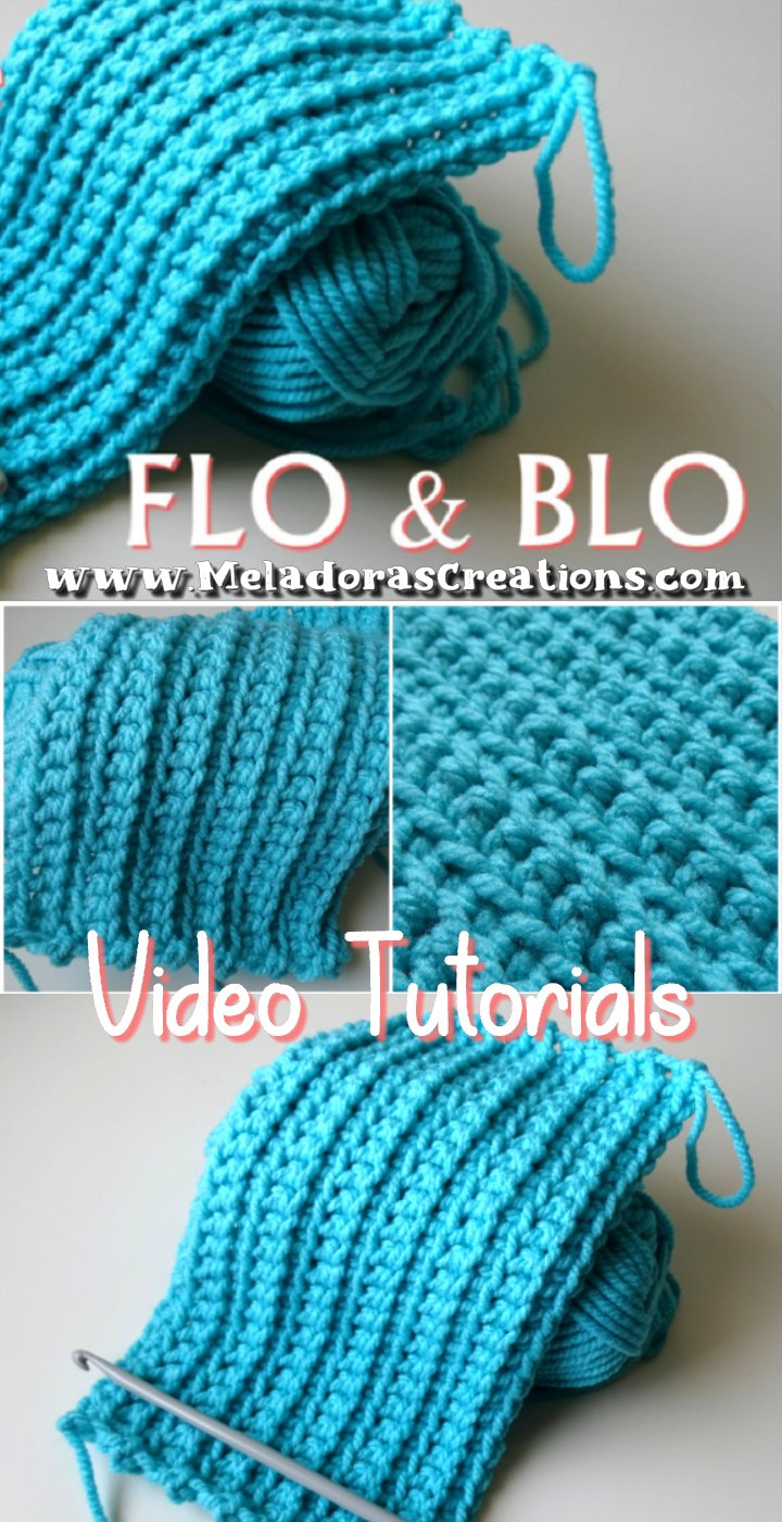 Front Loop Only and Back Loop Only crochet technique - FLO and BLO – Crochet Tutorials