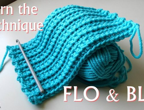 Front Loop Only and Back Loop Only crochet technique – FLO and BLO – Crochet Tutorials