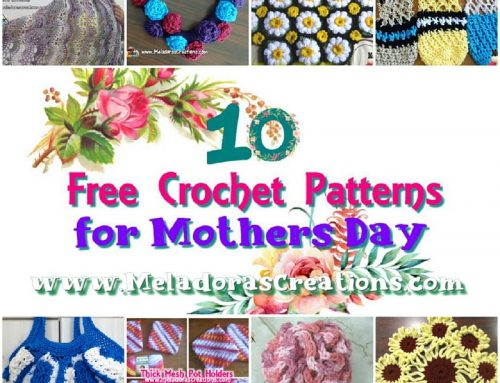 10 Free Crochet Patterns for Mothers Day – Pattern round up – crochet link blast