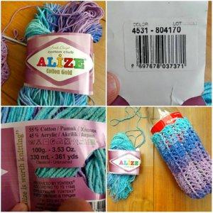 Crochet Bottle Holder - Fancy Bottle Holder – Free Crochet Pattern