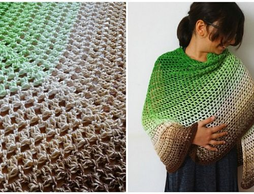 Butterfly Shawl Crochet Pattern – Emerald Isle Butterfly Shawl – Free Crochet Pattern