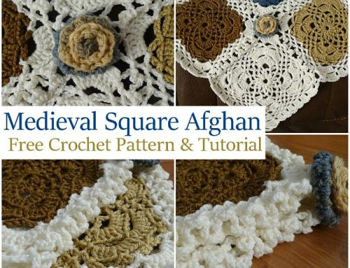 Medieval Square Afghan – Free Crochet Pattern