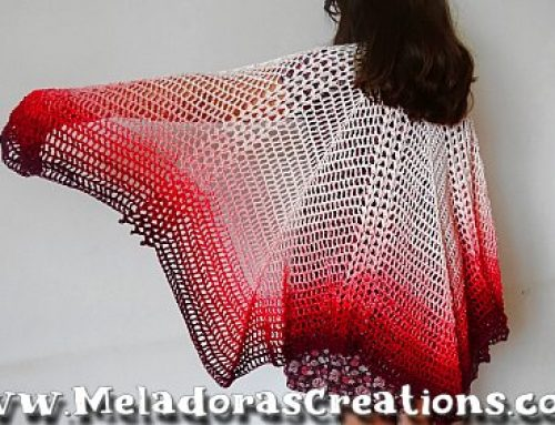 The Flutterby Effect Butterfly Shawl – Free Crochet Pattern