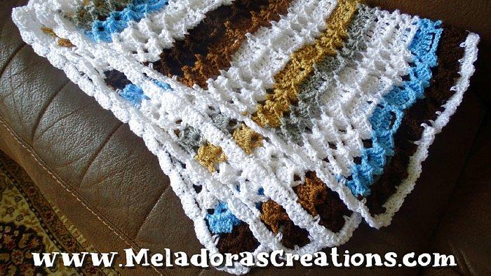 Crochet Baby Blanket - Marshmallow Baby Blanket – Free Crochet pattern