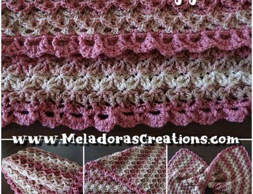 Double Sided Afghan – Free Afghan Crochet Pattern – Crochet Baby Blanket Pattern