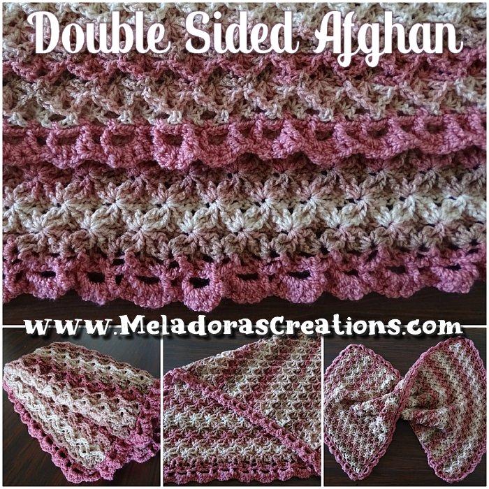 How to crochet an easy heart blanket - cute baby blanket tutorial ... | 700x700