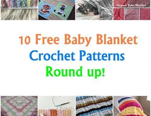 10 Baby Blanket Crochet Pattern Link Round up