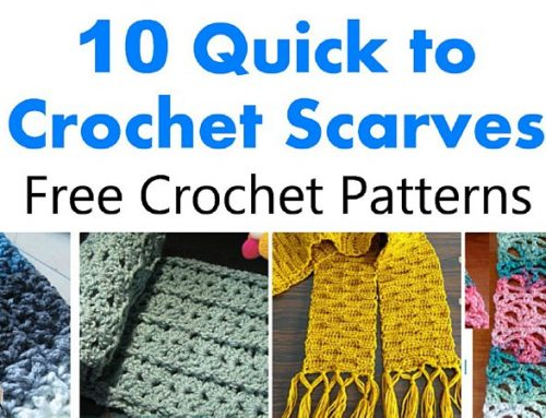 10 Quick to Crochet Scarves – Free Crochet Pattern link Blast