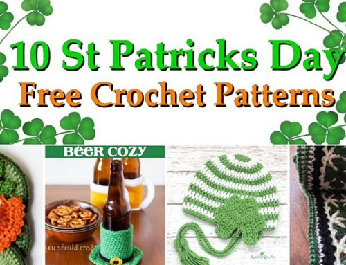10 Saint Patrick's Day Patterns – Free Crochet Pattern link Blast