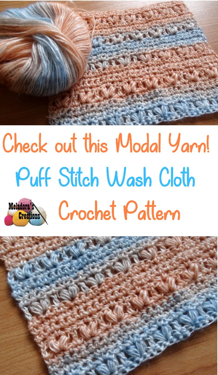 Crochet Heart Wash Rag – Modal Yarn - Free Crochet Pattern - Ice Yarns