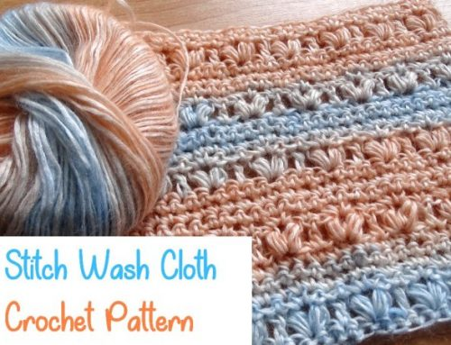 Crochet Heart Wash Rag – Modal Yarn – Free Crochet Pattern – Ice Yarns