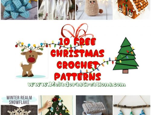 10 Free Christmas Crochet Patterns – Crochet Pattern link Blast