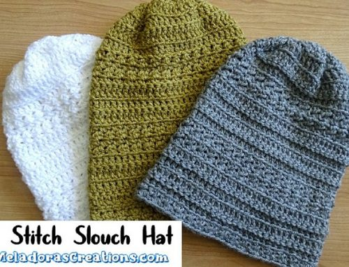 Glover Stitch Slouch Hat – Free Crochet pattern