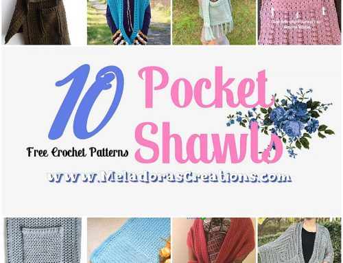 10 Pocket Shawls – Free Crochet Pattern link Blast