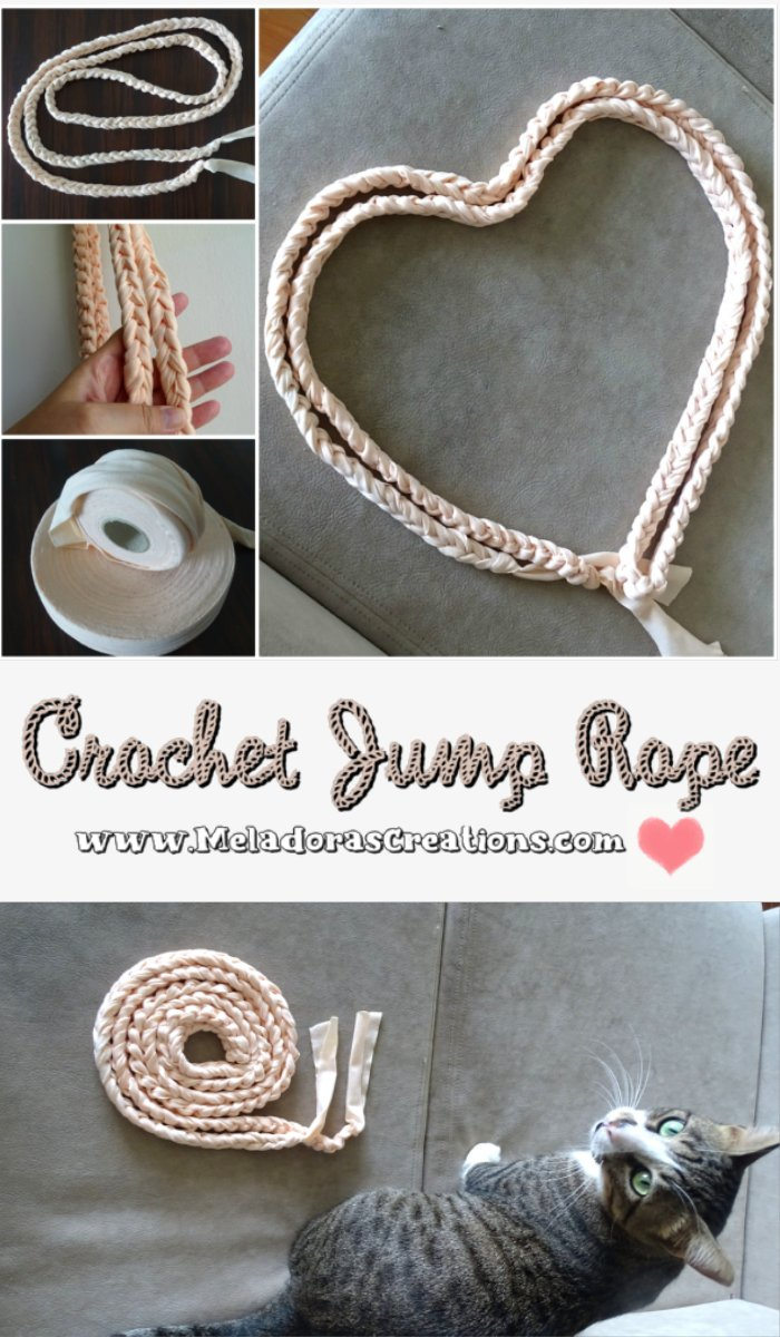 Crochet Jump Rope - Free Crochet Pattern