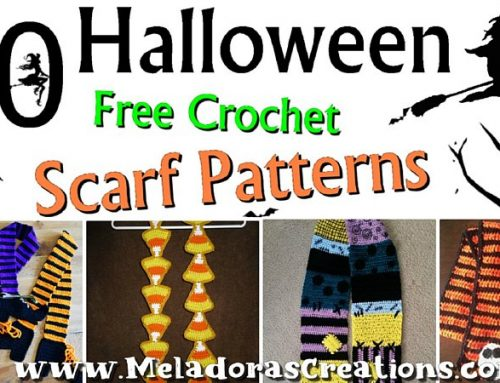 10 Free Halloween Scarf Crochet Patterns Link Blast