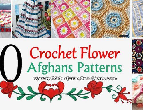 10 Flower Crochet Afghans – Free Crochet Pattern link Blast