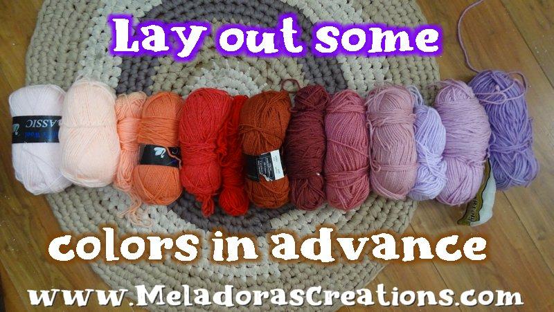 Perfect Scrap Yarn Crochet Stitch – Free Crochet pattern