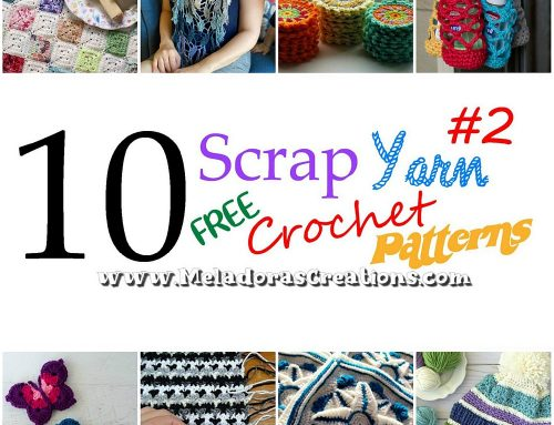10 Scrap Yarn Crochet Patterns #2 – Free Crochet Patterns for left over wool