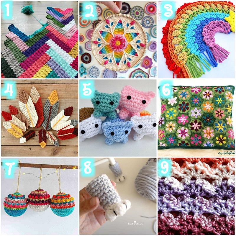 10 Scrap Yarn Crochet Patterns – Free Crochet Patterns for left over wool