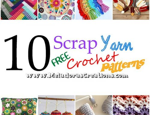 10 Scrap Yarn Crochet Patterns – Free Crochet Patterns for left over wool