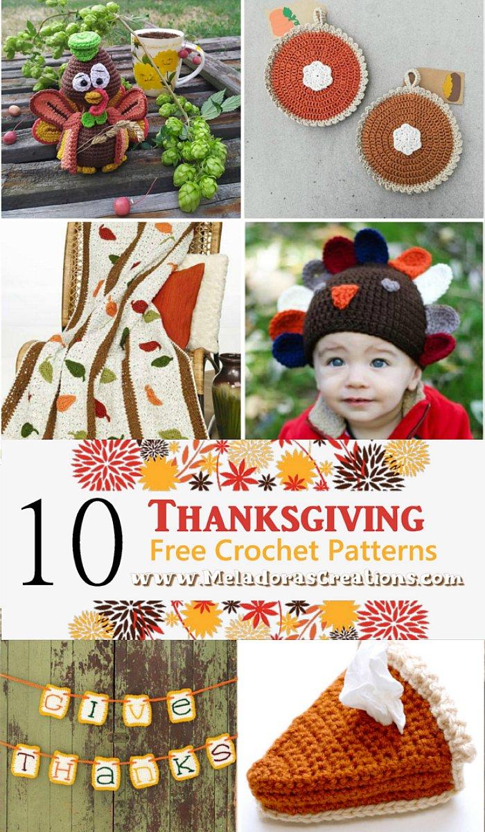 10 Thanksgiving Crochet Patterns - Crochet Patterns for Thanksgiving