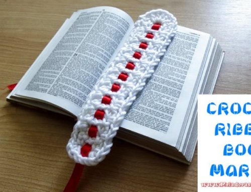 Crochet Ribbon Bookmarkers – Free Crochet pattern