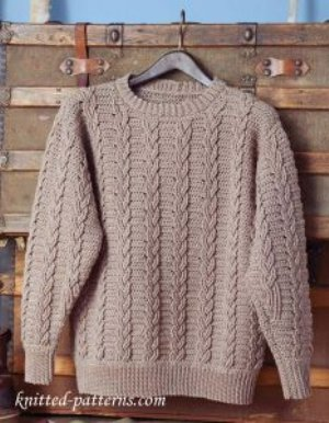 10 Free Crochet Pullover Sweaters for Men – Free Crochet Pattern Round up