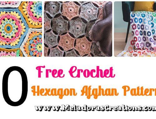 10 Free Crochet Hexagon Afghan Patterns – Free Crochet Pattern Round up