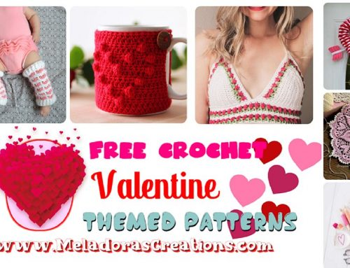 10 Free Valentine Themed Crochet Patterns – Free Crochet Pattern Link Blast