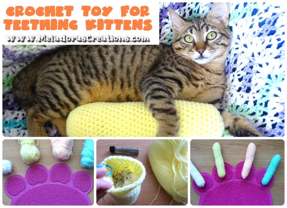 Crochet Cat Toy – Free Crochet pattern