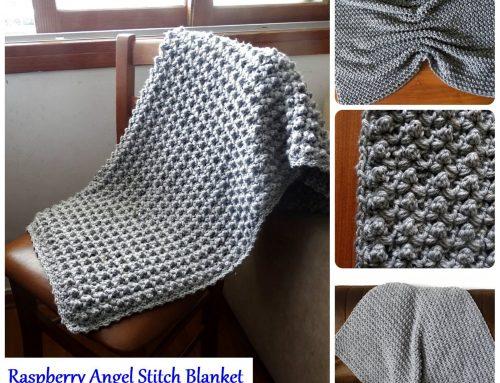 Raspberry Angel Baby Crochet Afghan – Free Crochet Pattern