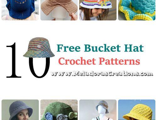 10 Bucket Hat Crochet Patterns – Crochet Round up