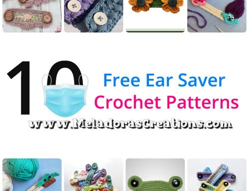 10 Free Ear Savers Crochet Patterns – Crochet Round up